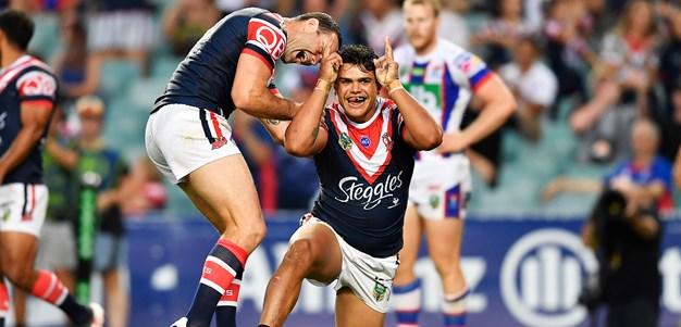 Roosters Win Big Over Newcastle Knights