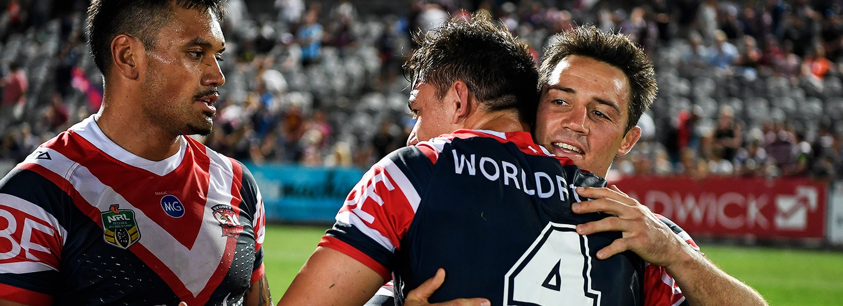 Roosters right edge wowed by Cronk influence