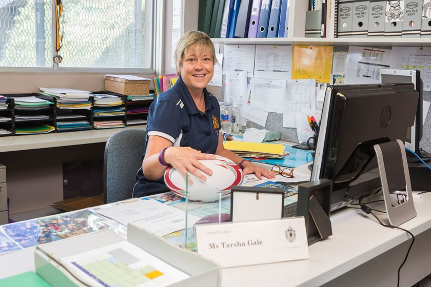 "Tarsha is the Head of PDHPE at Oakhill College, the same school Luke Keary attended. ""He is a lovely boy,"" Tarsha said. ""He is someone who can read the game. He's got a footy head, it's a coache's dream."""