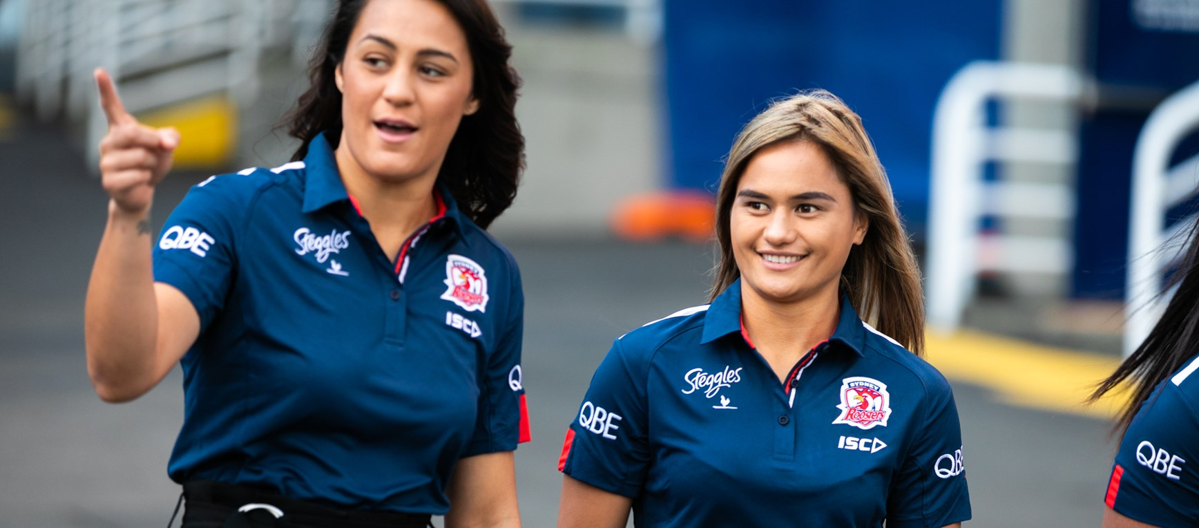 NRLW Roosters first photo shoot