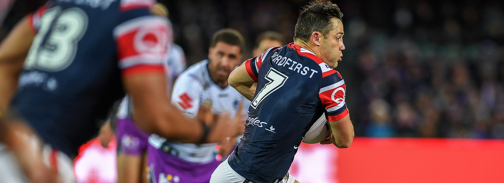 Smith seals dramatic last minute win for Storm over Roosters