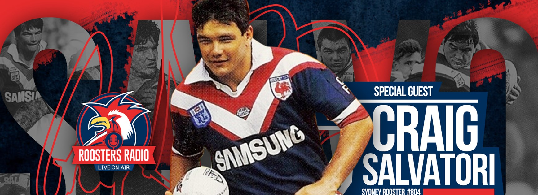 Roosters Radio | Special Guest Craig Salvatori