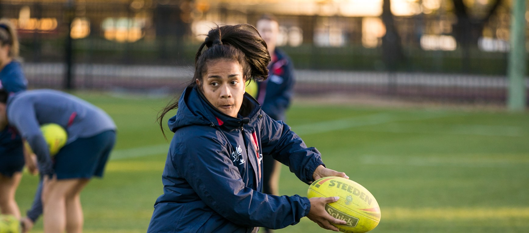 Roosters Women's Squad | First Training