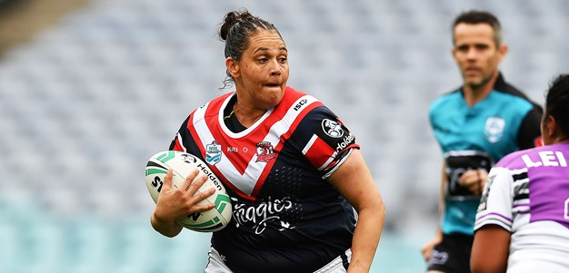 Caldwell playing for her people in grand final