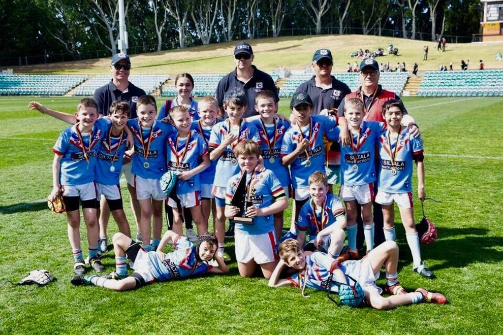 "Clovelly Crocodiles: Under 10 (Division 1)  Manager Craig McDonald: ""It was an awesome Grand Final for our Clovelly Crocs, to come back from 16-6 down to win 24-16. A great team effort."""