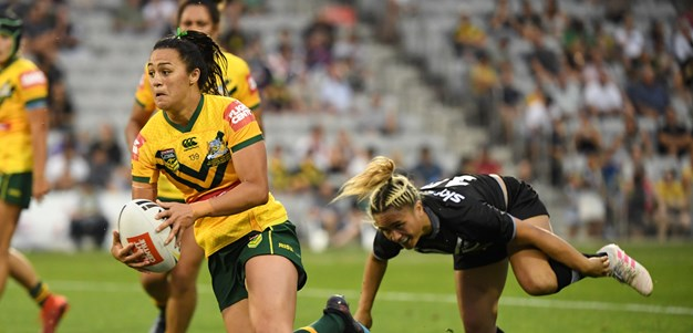 Jillaroos bounce back from nines defeat to thump Kiwi Ferns