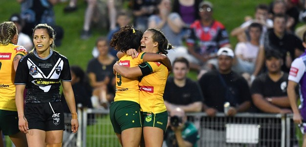 Highlights | Jillaroos v Kiwi Ferns