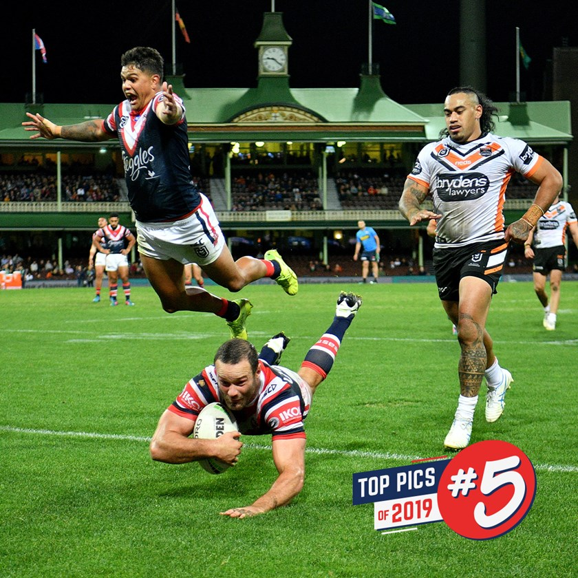 The Roosters go on a rampage at the SCG