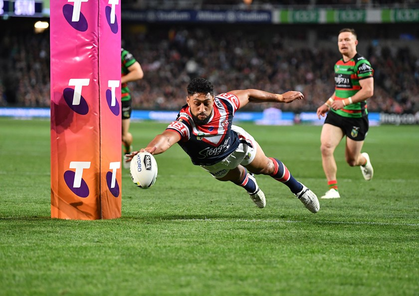 A Club favourite moment of the year, Isaac Liu doing whatever it takes to stop a try in the Preliminary Final.