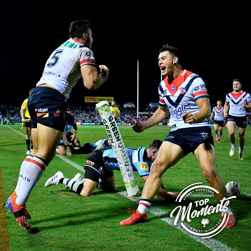 The post miracle try celebration!