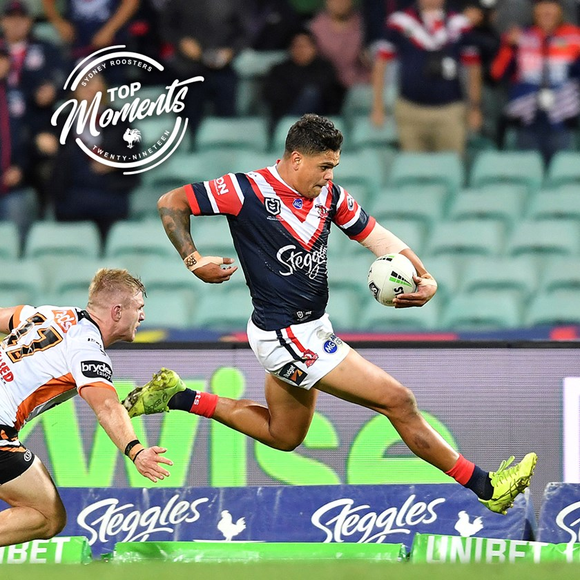 Latrell Mitchell runs rampant at the SCG.