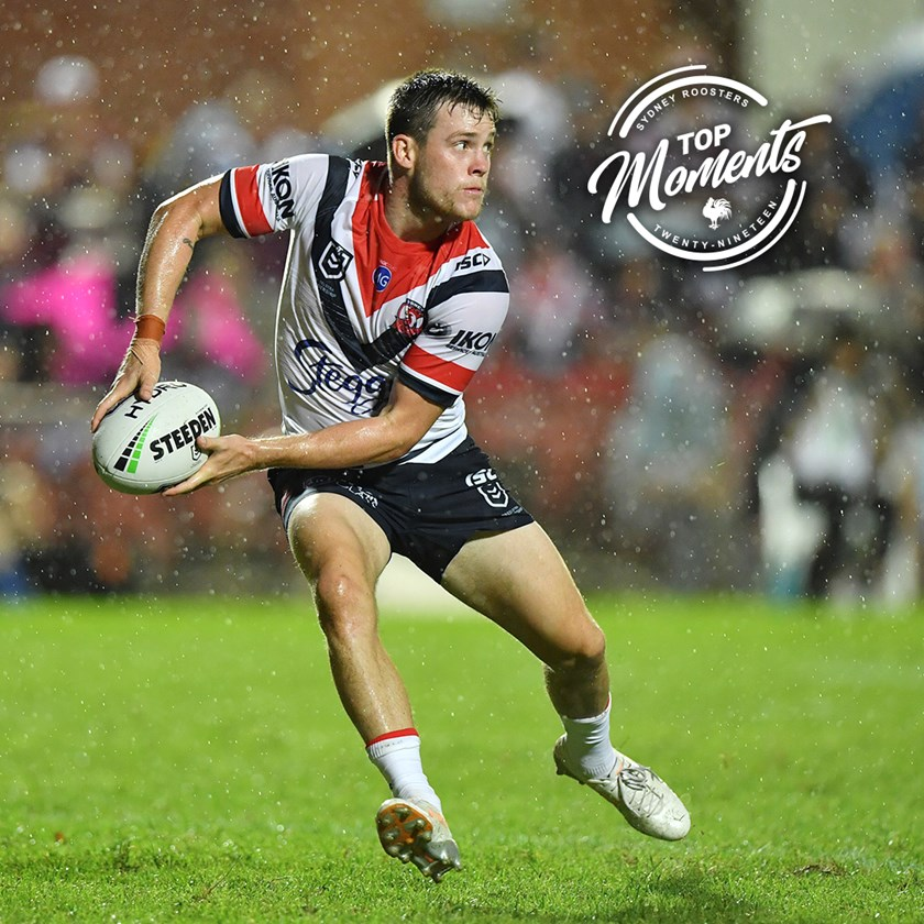 Keary steers the side around in the pouring rain at Lottoland.