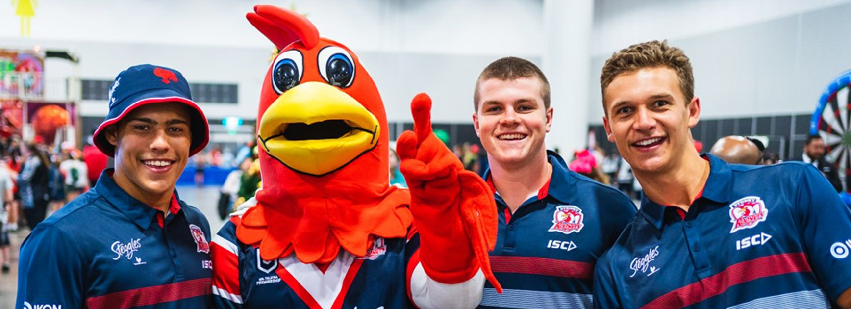 Young Roosters add some Christmas Sparkle