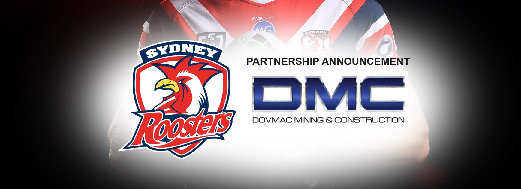 DMC Joins Roosters As Central Coast Partner