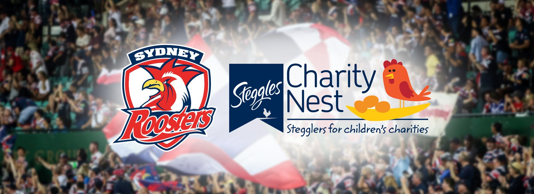 Steggles & Roosters Celebrate Charity Nest Round