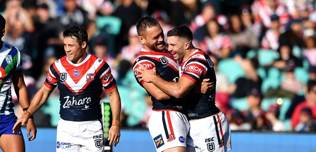 Roosters put Warriors to the sword at SCG