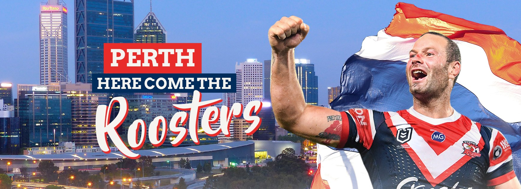 Roosters To Take Home Games To Perth From 2020