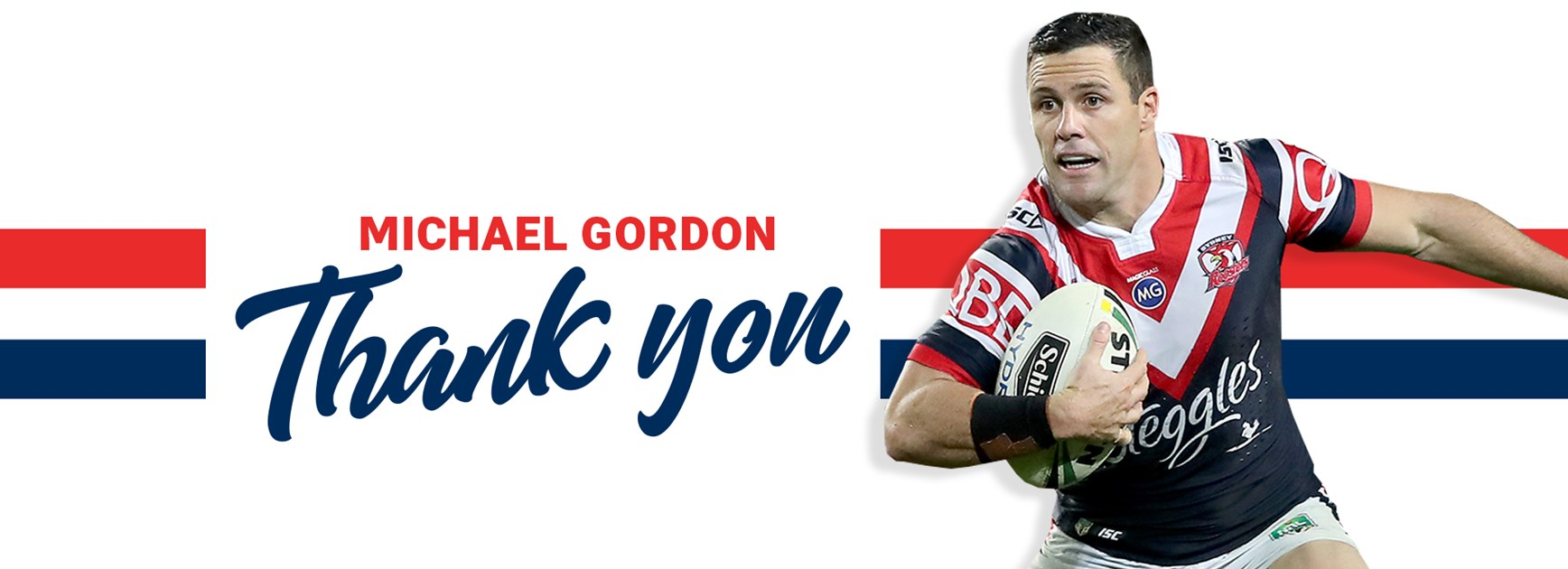 Roosters Say Farewell To Michael Gordon