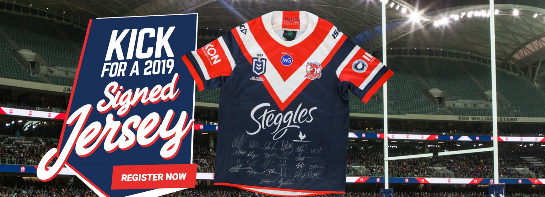 Kick For A 2019 Signed Jersey | Adelaide