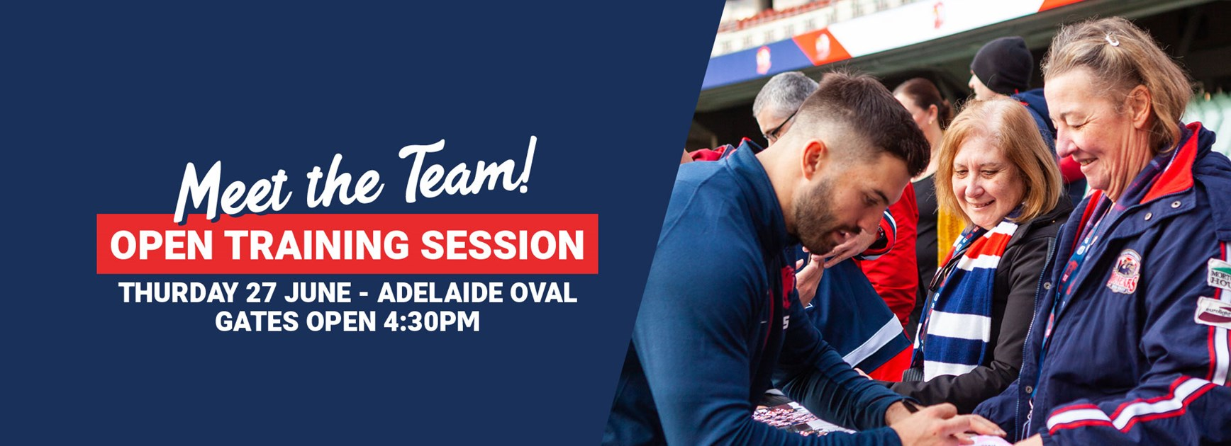 Meet the players in Adelaide