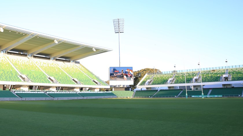 HBF Park and the Sydney Roosters will host an NRL Telstra Premiership game for the next in 2020, 2021 and 2022.