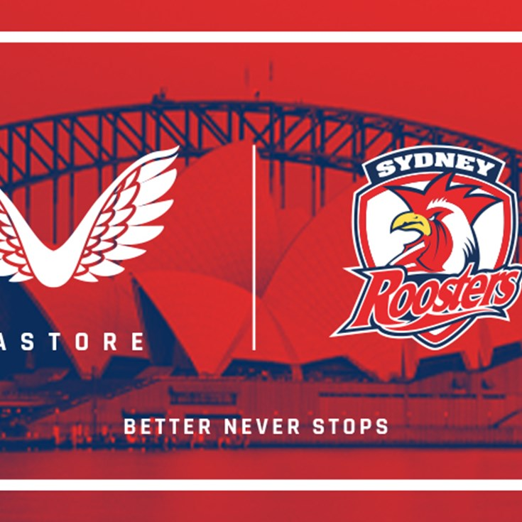 Sydney Roosters partner with premium sportswear brand Castore