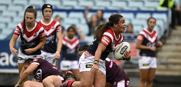 NRLW Highlights | Roosters v Broncos