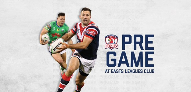 Pre-Game At Easts Leagues Club