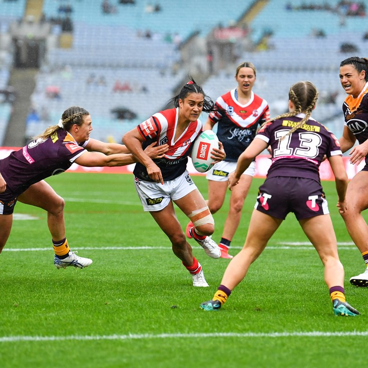 Roosters fight but fall short in NRLW Grand Final