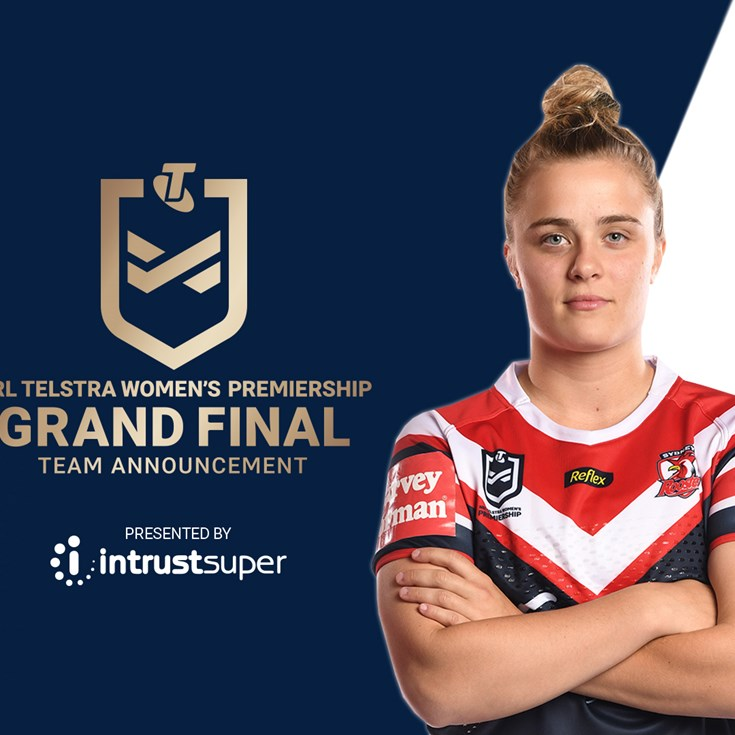 NRLW Grand Final Team Announcement