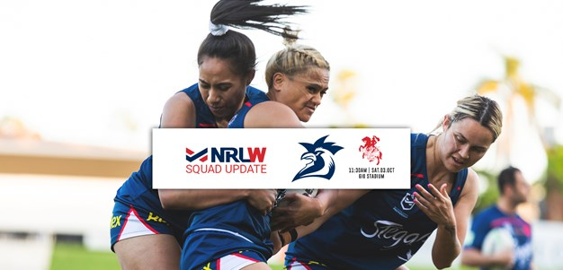 NRLW Squad Update | Game One