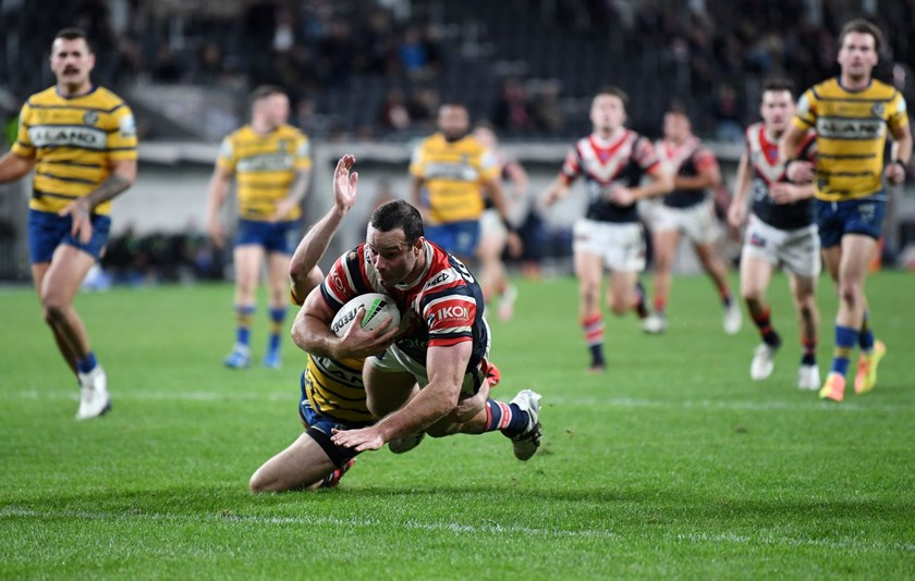 Cordner puts his side in front against the Eels.
