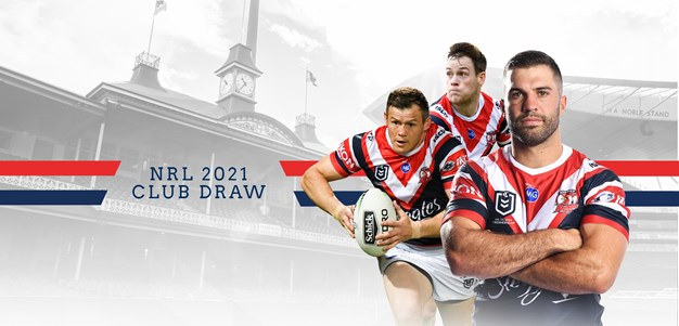 Roosters reveal draw for 2021 season