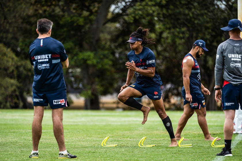 Sitili Tupouniua will return on day one of the pre-season