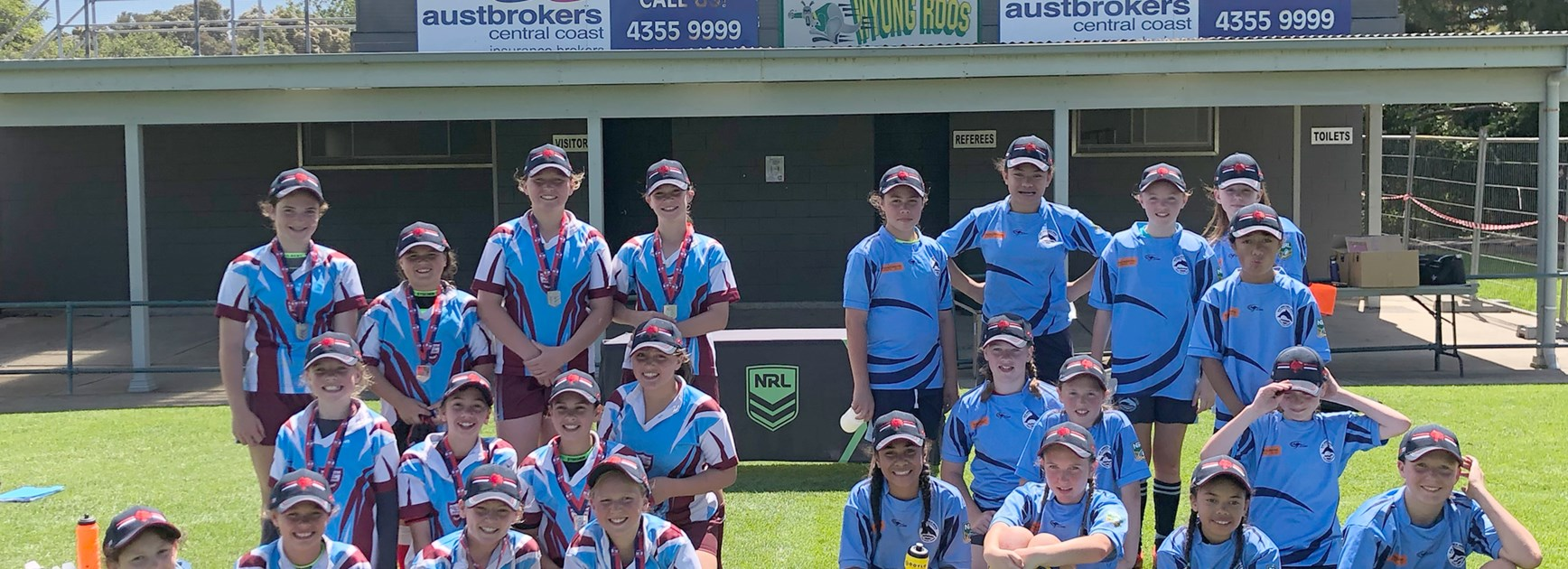 Girls Winners Umina Public School and Runners Up Blue Haven Public School.