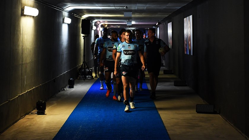 Tedesco leads the troops at ANZ Stadium