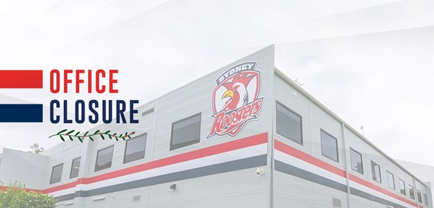 Roosters Office Closing Until 2021