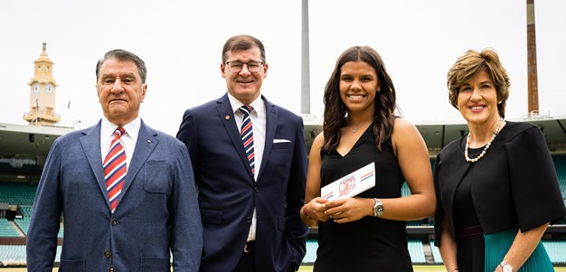 Jada Whyman awarded inaugural Sydney Roosters & Easts Group Minerva Scholarship