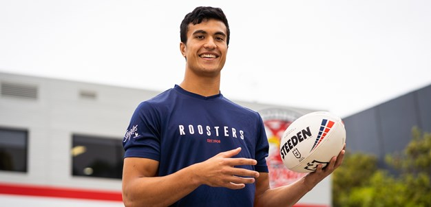 Promising youngster Joseph Suaalii signs with Roosters