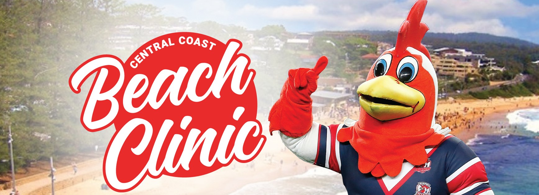Sydney Roosters 2020 Beach Clinic
