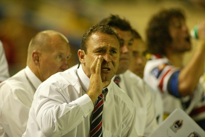 Ricky Stuart coached the Sydney Roosters for five seasons.