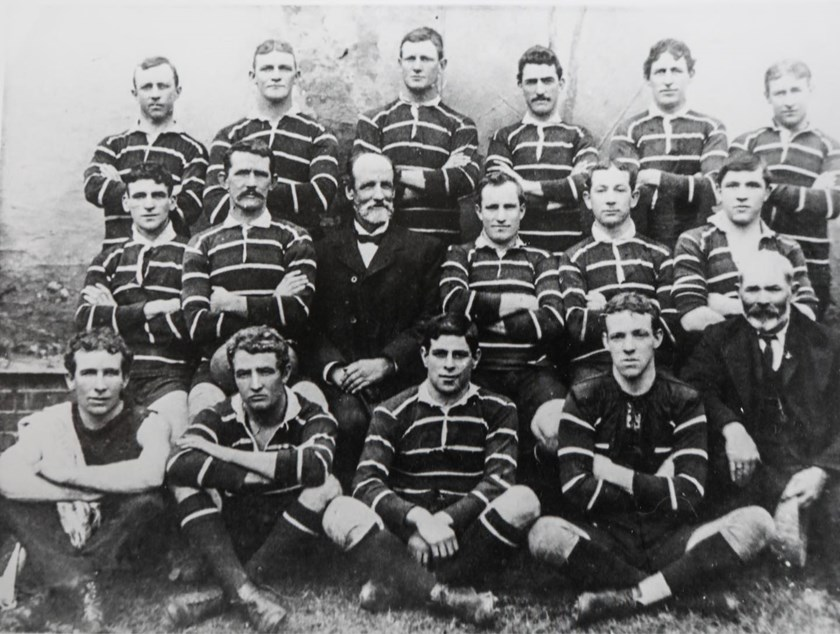 Easts 1908 team photo.