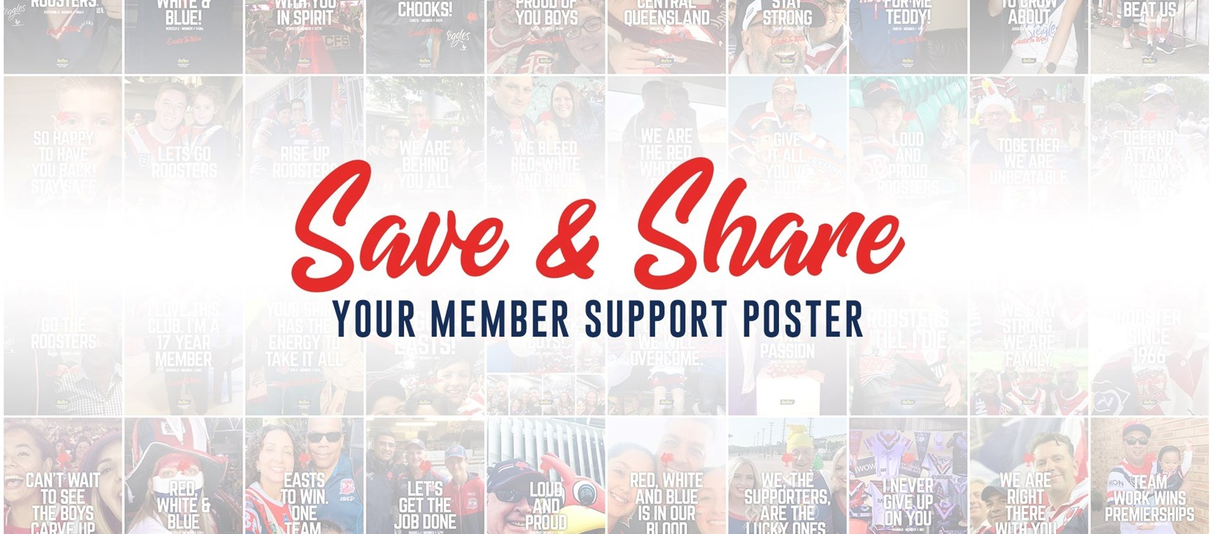 Save And Share Your Member Poster