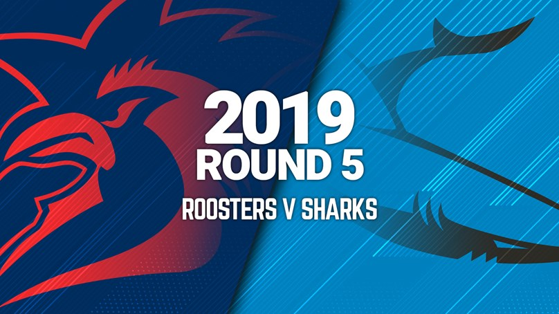 Full Match | Sharks v Roosters