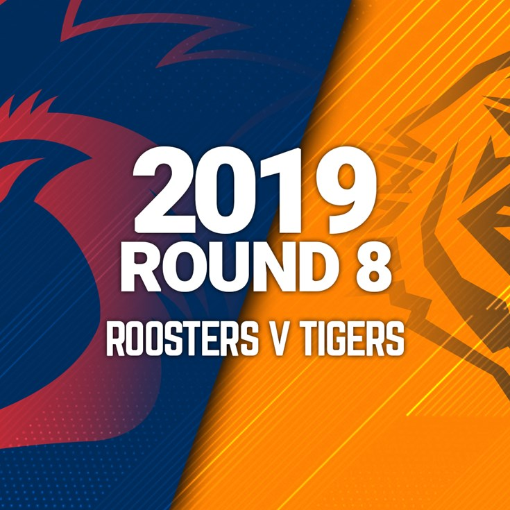 Full Match | Roosters v Wests Tigers