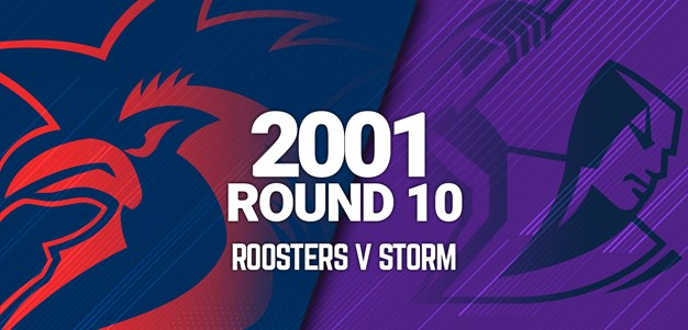 Storm v Roosters | Round 10, 2001