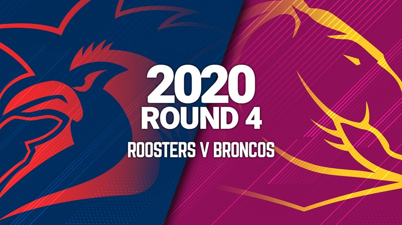 Full Match | Broncos v Roosters