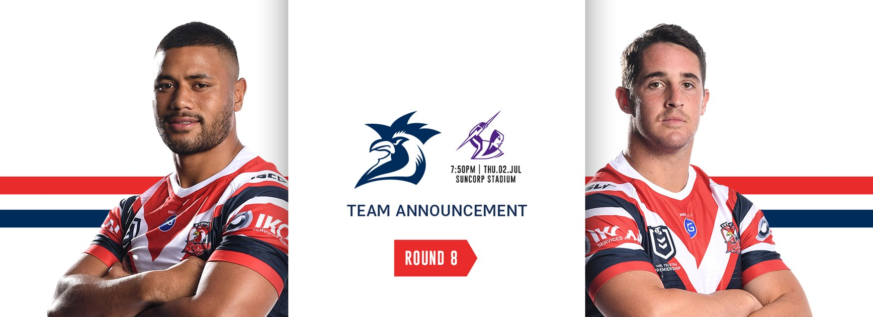 Team Announcement | Round 8