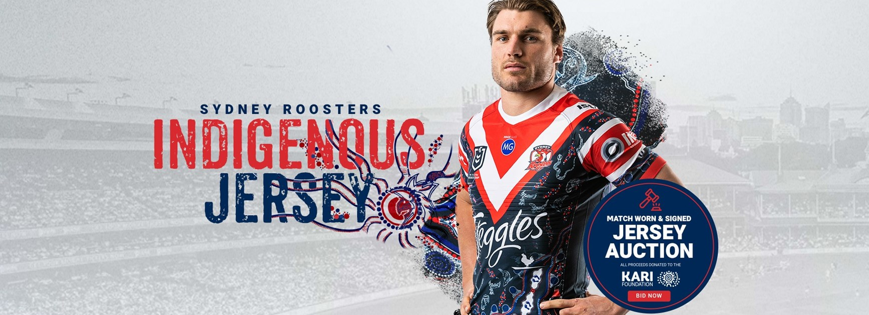 Indigenous Jersey Auction On Now