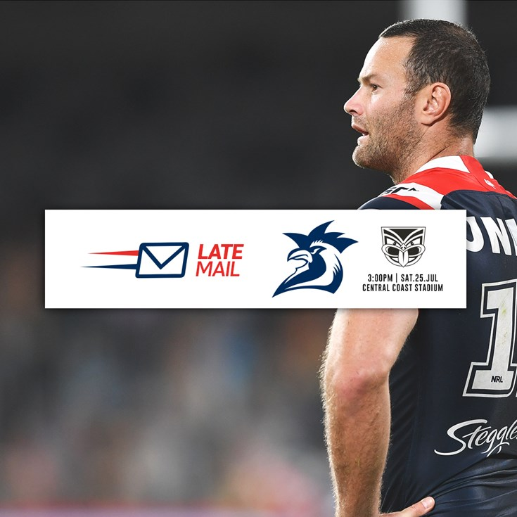 Late Mail | Cordner Out